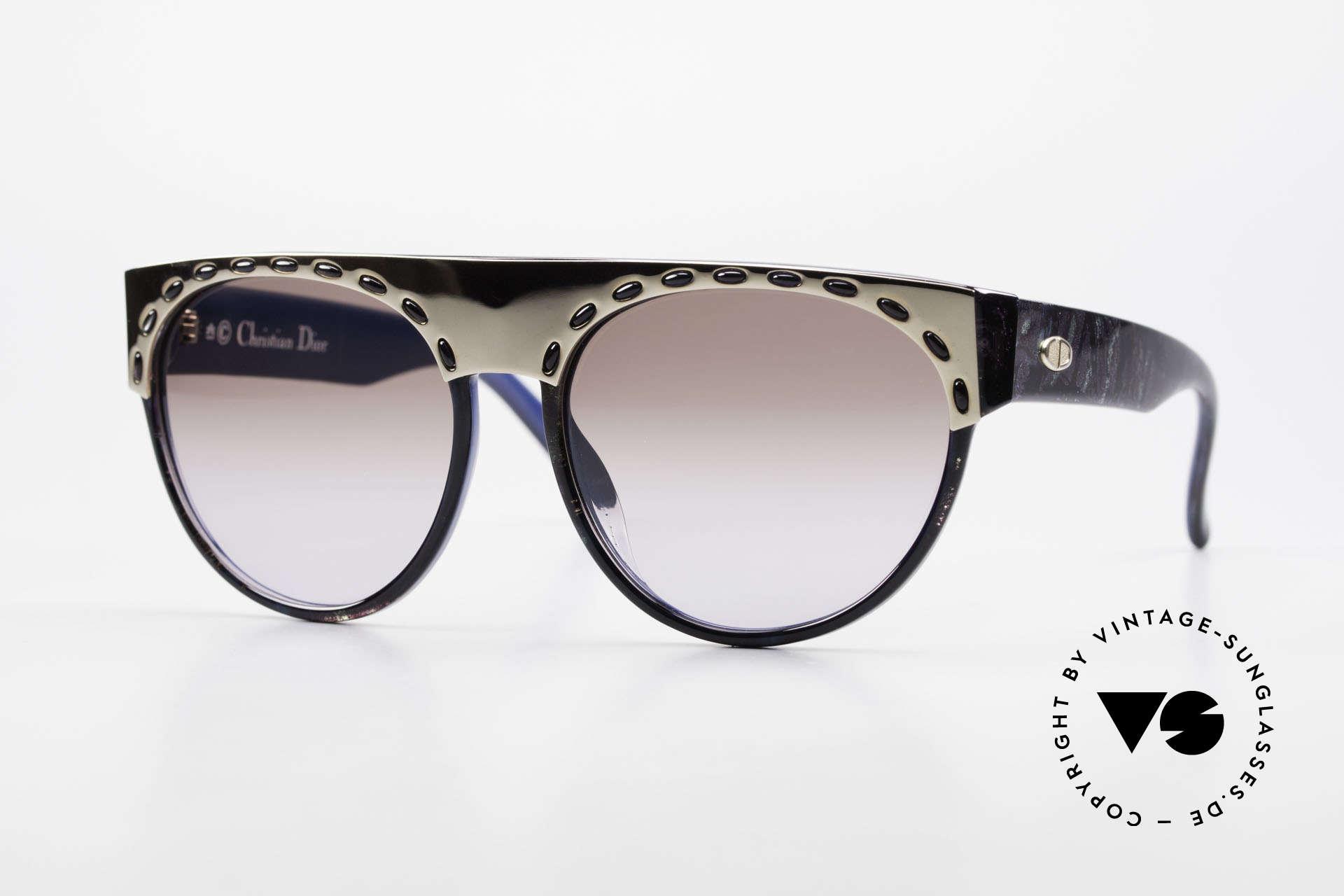 Christian Dior 2437 Vintage Ladies Sunglasses 80's, superb sunglasses by Christian Dior from the late 80's, Made for Women
