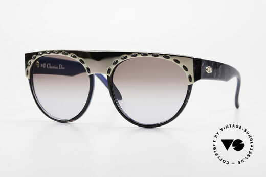 Christian Dior 2437 Vintage Ladies Sunglasses 80's Details
