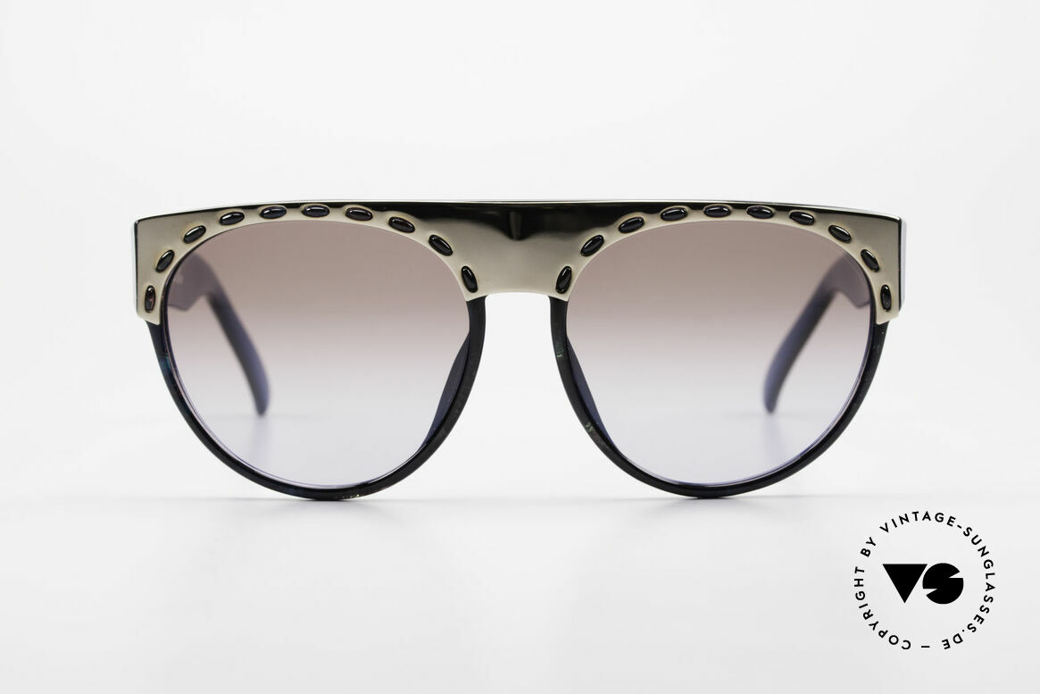 Christian Dior 2437 Vintage Ladies Sunglasses 80's, unique play of colors (check the pictures); true vintage, Made for Women