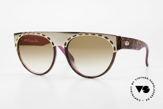 Christian Dior 2437 Ladies Sunglasses 80's Vintage Details