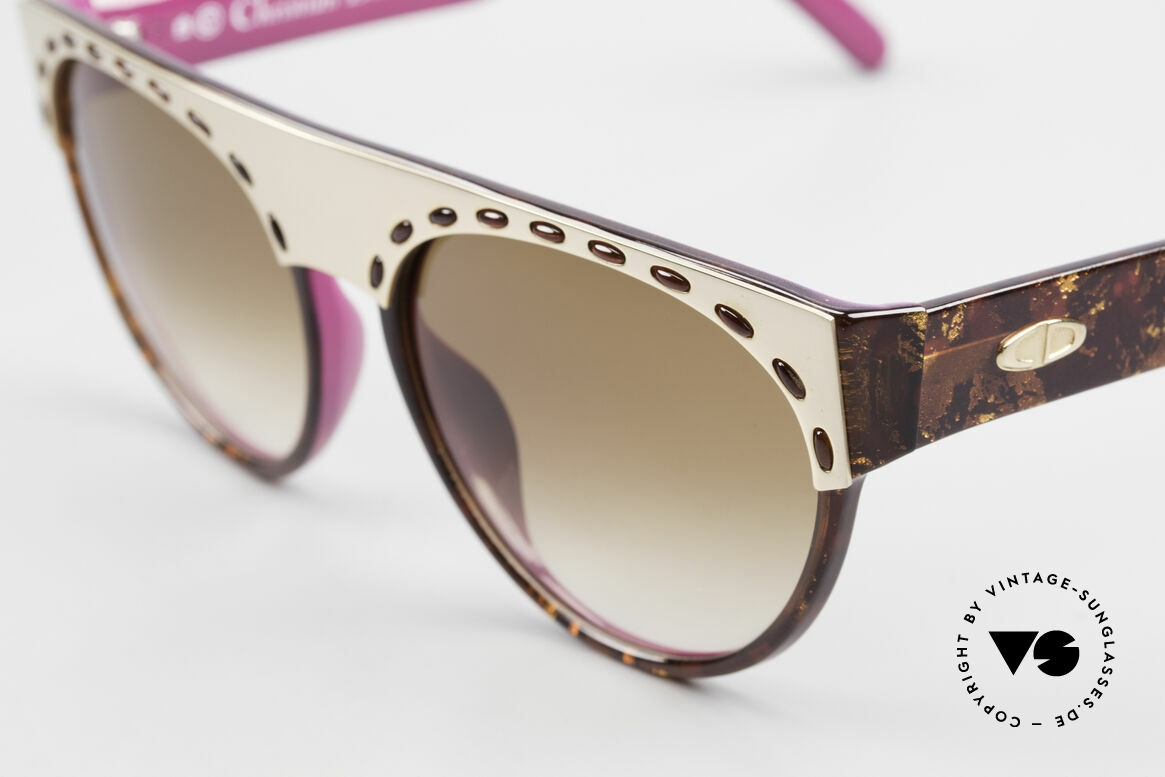 Christian Dior 2437 Ladies Sunglasses 80's Vintage, unworn vintage rarity; like all our Christian Dior shades, Made for Women