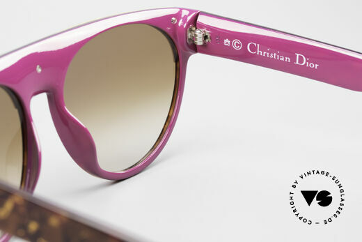 Christian Dior 2437 Ladies Sunglasses 80's Vintage, sun lenses (100% UV) can be replaced with prescriptions, Made for Women