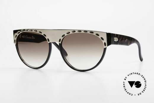 Christian Dior 2437 Ladies Sunglasses 80's Vintage Details