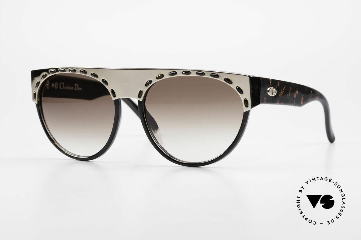 Christian Dior 2437 Ladies Sunglasses 80's Vintage, superb sunglasses by Christian Dior from the late 80's, Made for Women