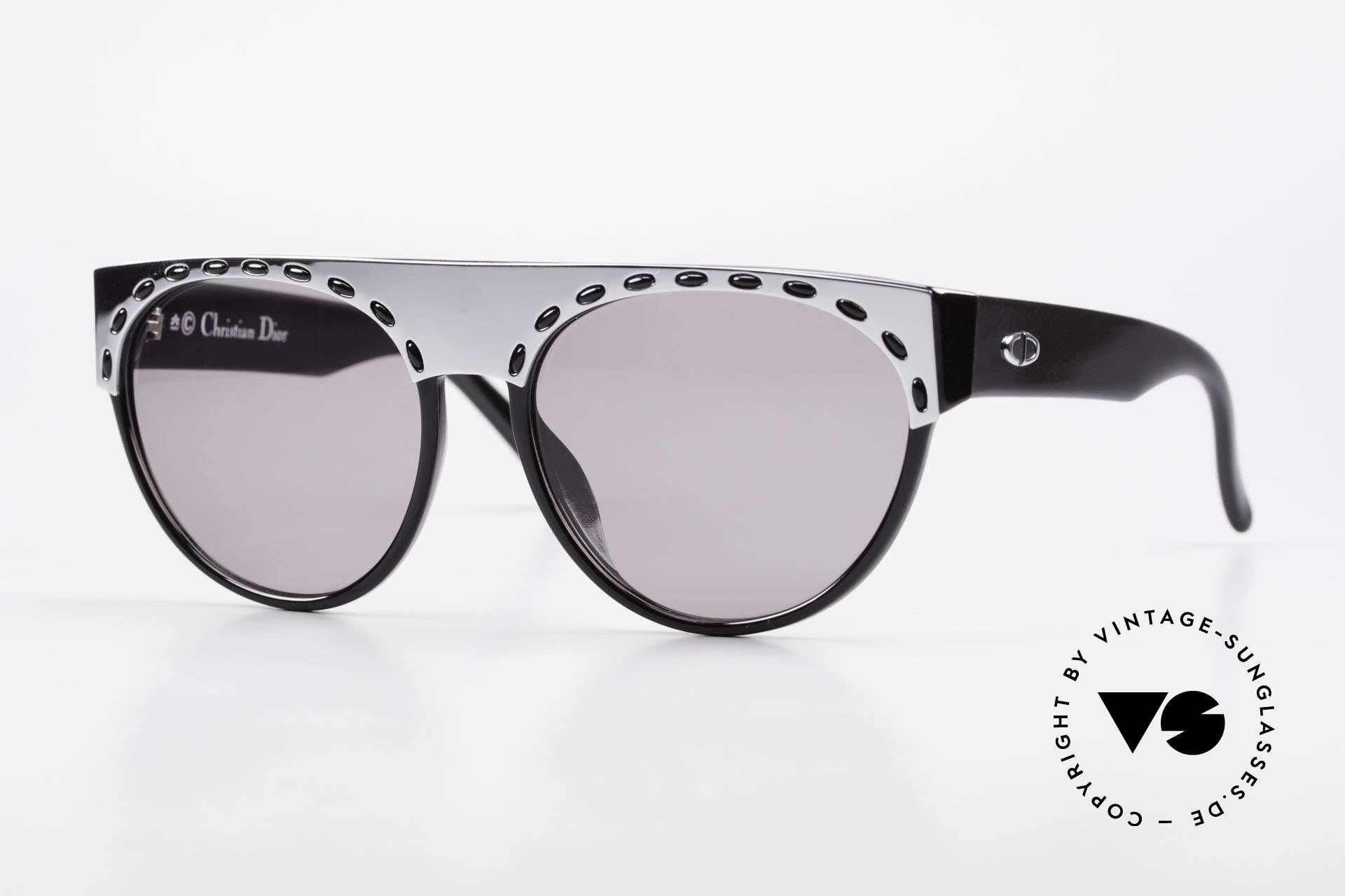 Christian Dior 2437 Ladies 80's Sunglasses Vintage, superb sunglasses by Christian Dior from the late 80's, Made for Women