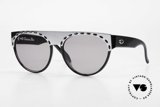 Christian Dior 2437 Ladies 80's Sunglasses Vintage Details