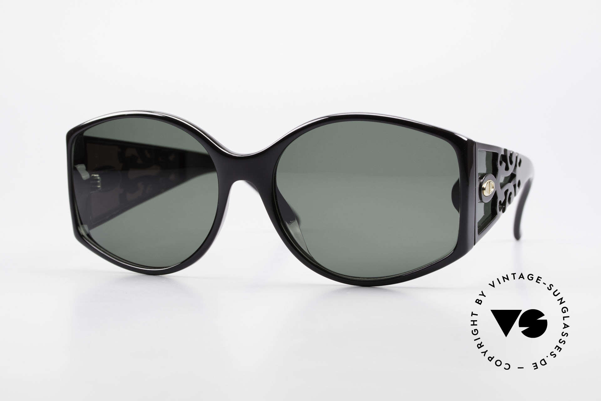 Christian Dior 2435 80's Designer Sunglasses Ladies, magnificent DIOR vintage sunglasses from 1988, Made for Women