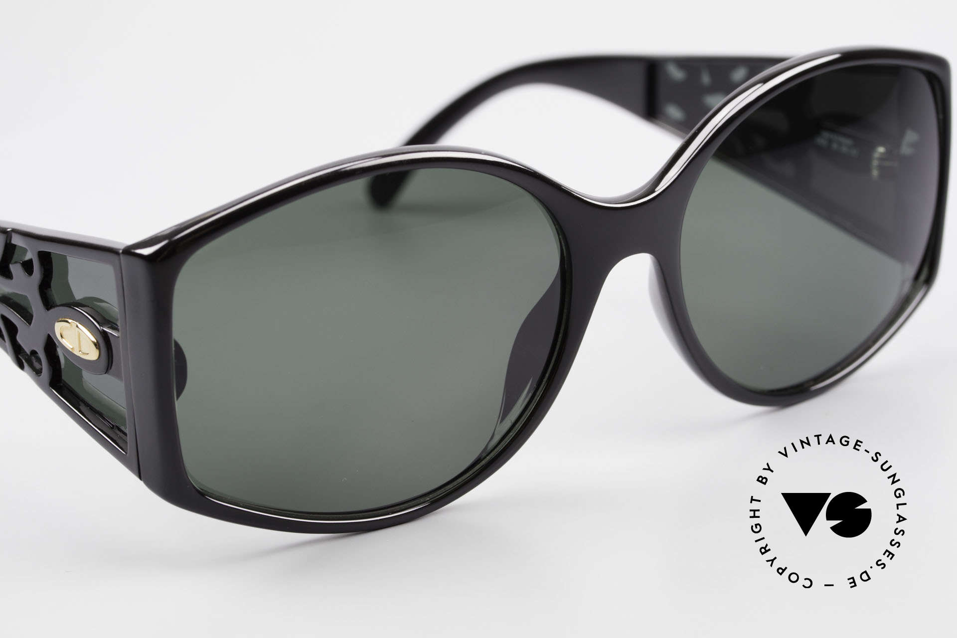 Christian Dior 2435 80's Designer Sunglasses Ladies, sun lenses (100% UV) could be replaced optionally, Made for Women