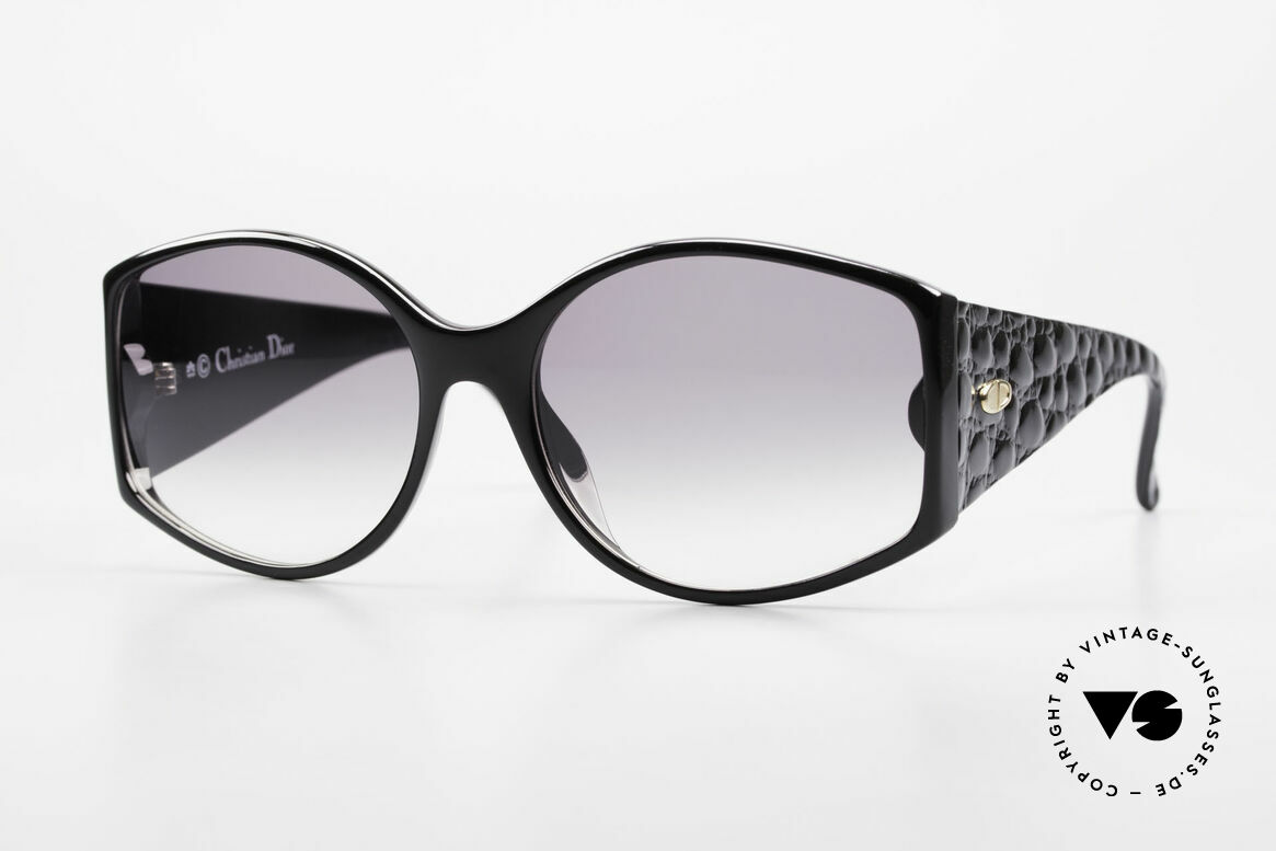 Christian Dior 2435 Designer Sunglasses Ladies 80's, magnificent DIOR vintage sunglasses from 1988, Made for Women