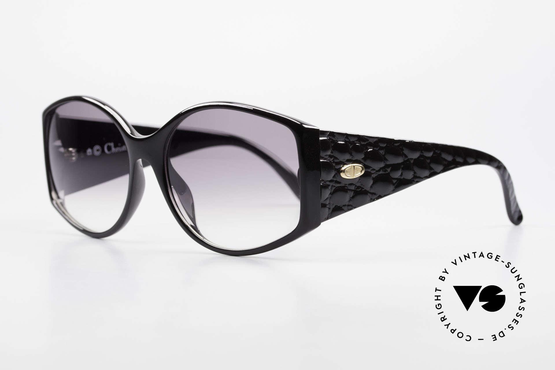 Christian Dior 2435 Designer Sunglasses Ladies 80's, 'Primadonna' or 'Diva' sunglasses - true vintage!, Made for Women
