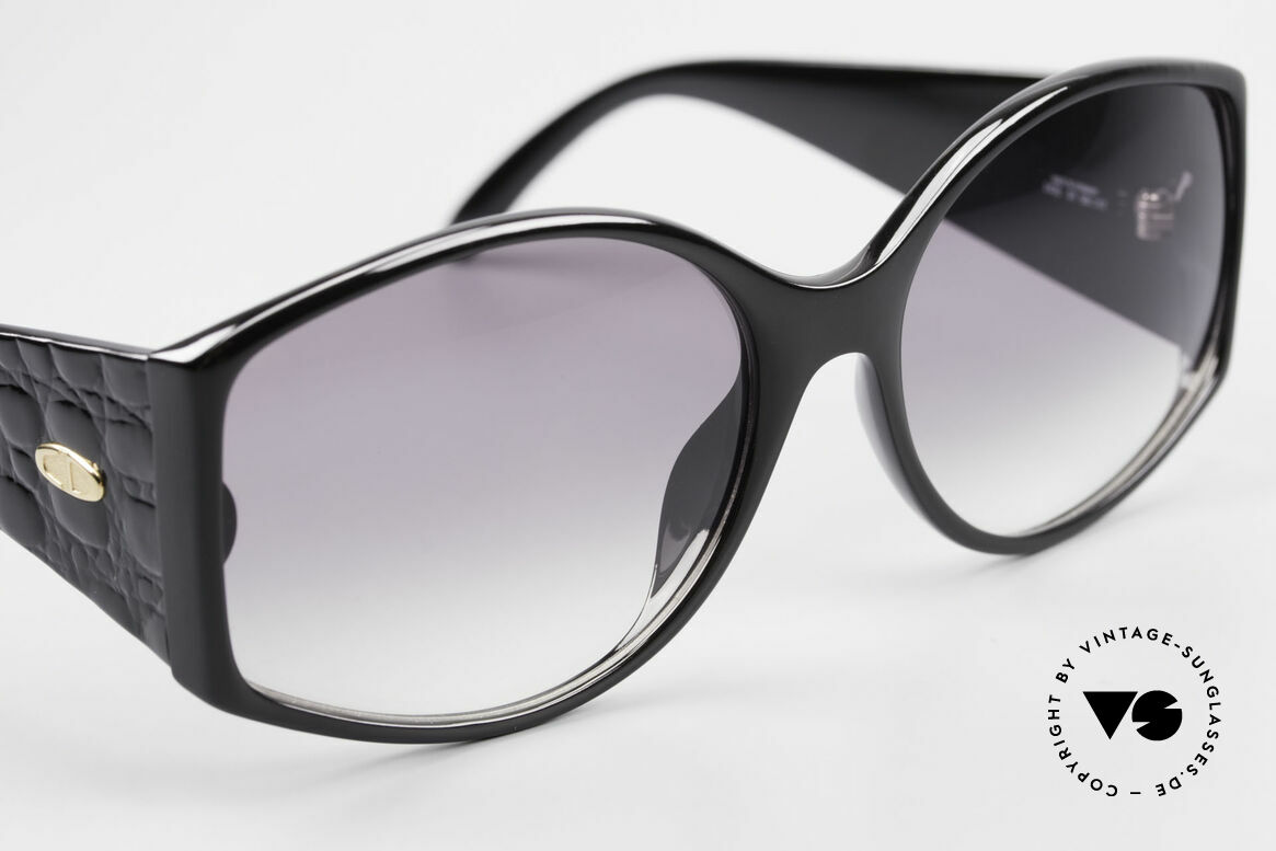 Christian Dior 2435 Designer Sunglasses Ladies 80's, NO RETRO fashion, but a unique old 80's RARITY, Made for Women
