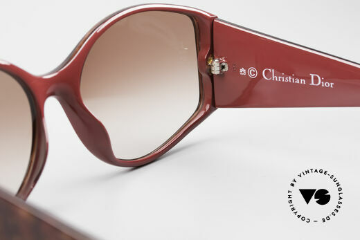 Christian Dior 2435 Designer 80's Sunglasses Ladies, sun lenses (100% UV) could be replaced optionally, Made for Women