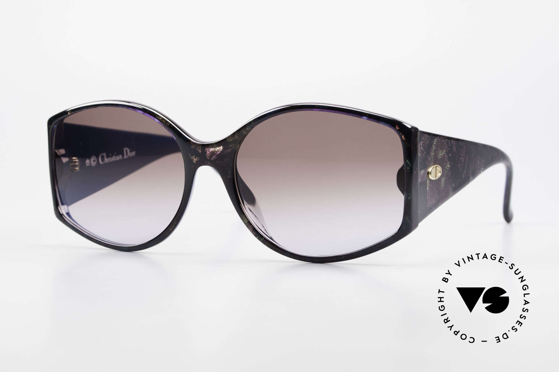 Christian Dior 2435 Ladies Designer Sunglasses 80's, magnificent DIOR vintage sunglasses from 1988, Made for Women