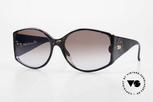 Christian Dior 2435 Ladies Designer Sunglasses 80's Details