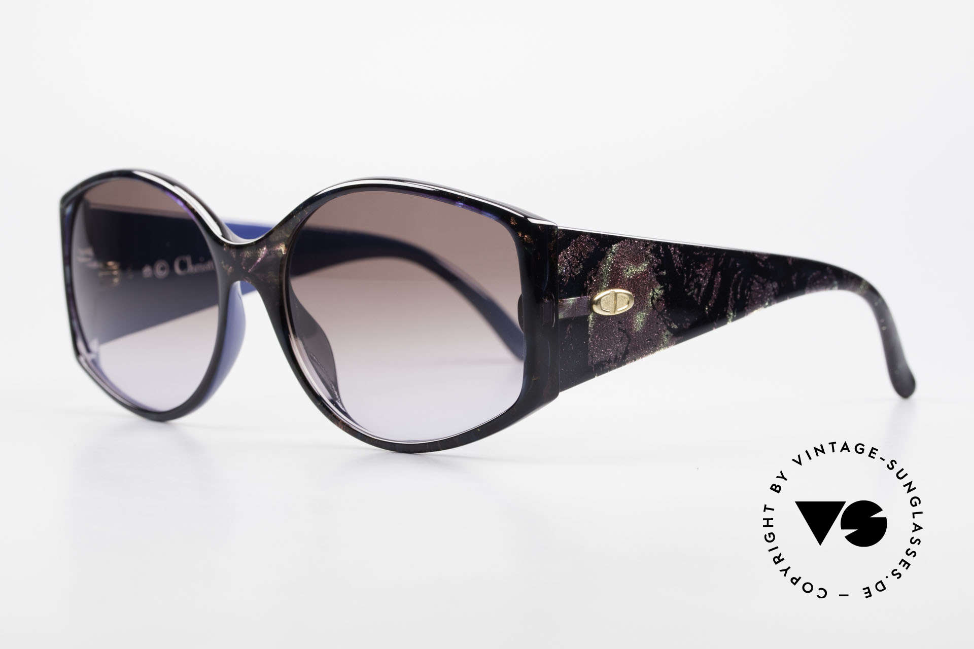 Christian Dior 2435 Ladies Designer Sunglasses 80's, 'Primadonna' or 'Diva' sunglasses - true vintage!, Made for Women