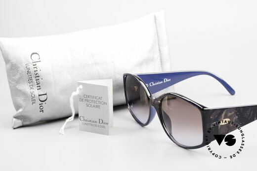 Christian Dior 2435 Ladies Designer Sunglasses 80's, sun lenses (100% UV) could be replaced optionally, Made for Women