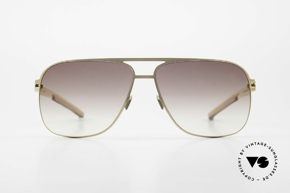 Mykita Luke Rare Luxury Shades From 2008, original VINTAGE MYKITA men's sunglasses from 2008, Made for Men
