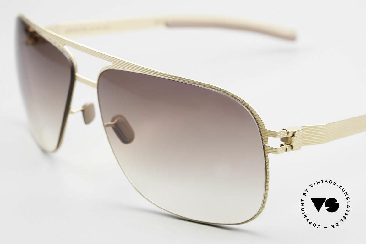 Mykita Luke Rare Luxury Shades From 2008, flexible metal frame = innovative and elegant likewise, Made for Men