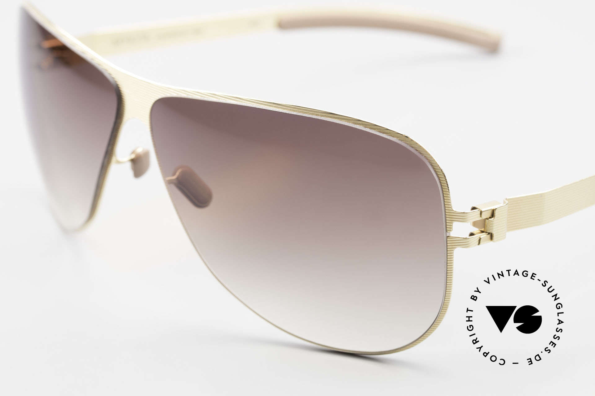 Mykita Ava Ladies Aviator Designer Shades, innovative and flexible metal frame = One size fits all!, Made for Women
