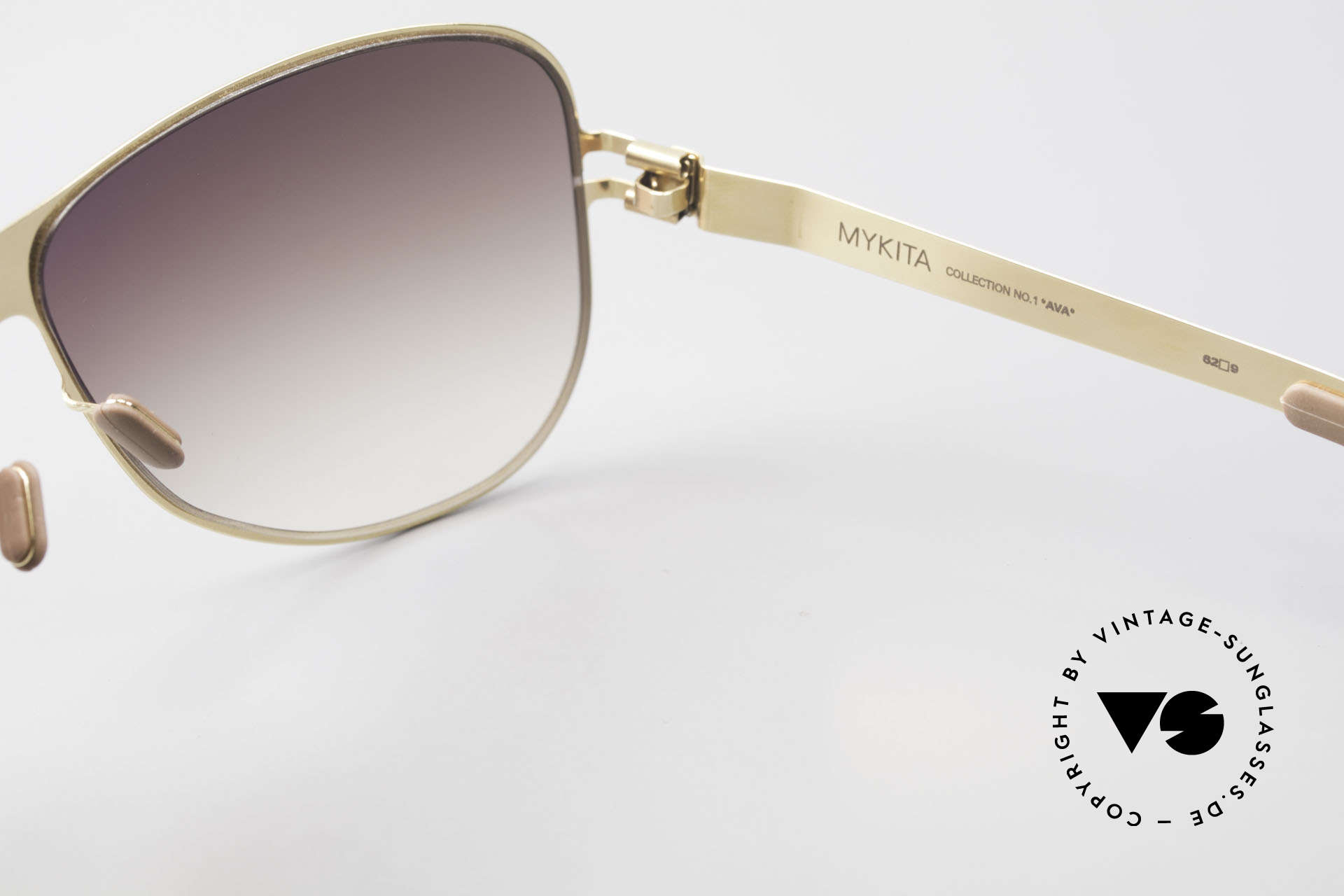 Mykita Ava Ladies Aviator Designer Shades, thus, now available from us (unworn and with orig. case), Made for Women