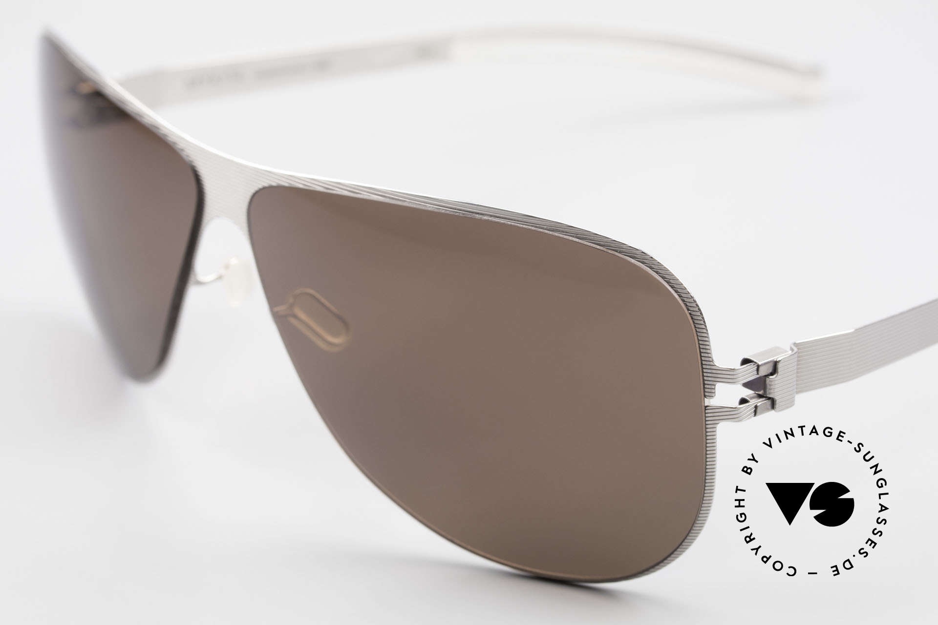 Mykita Ava Ladies Polarized Shades 2007's, innovative and flexible metal frame = One size fits all!, Made for Women