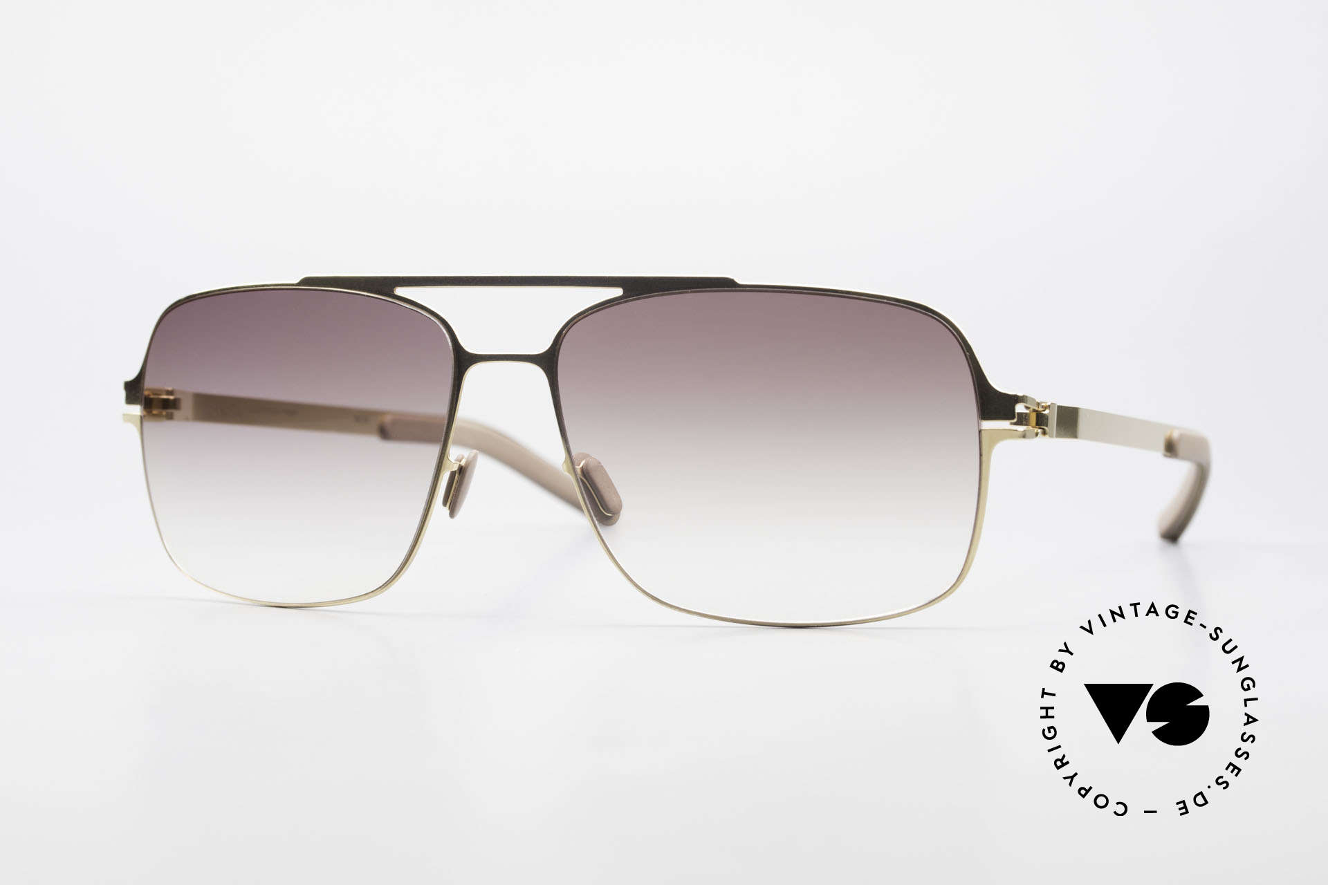 Mykita Troy Mykita Collection No 1 Shades, original VINTAGE MYKITA men's sunglasses from 2010, Made for Men