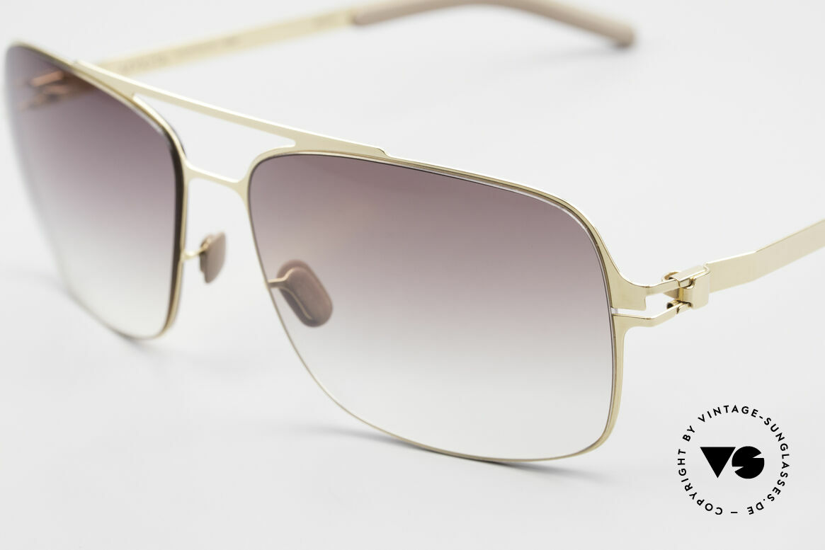 Mykita Troy Mykita Collection No 1 Shades, innovative and flexible metal frame = One size fits all!, Made for Men