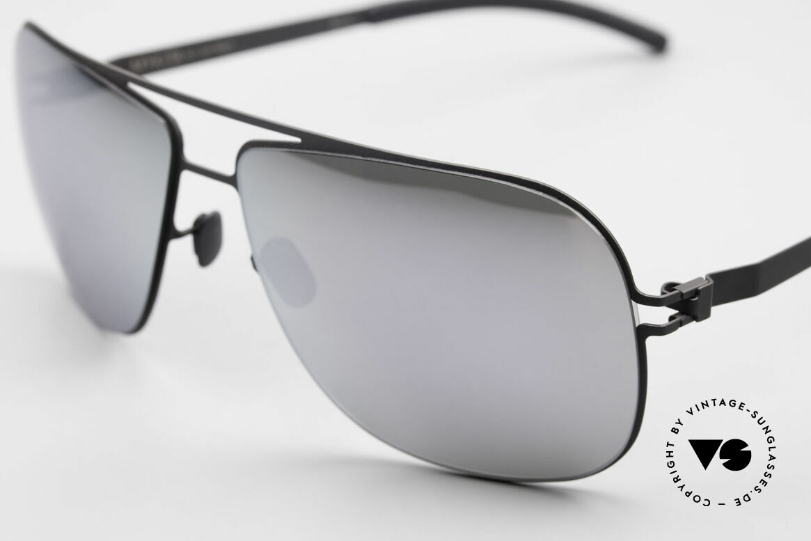 Mykita Rolf Mirrored Celebrity Sunglasses, innovative and flexible metal frame = One size fits all!, Made for Men and Women