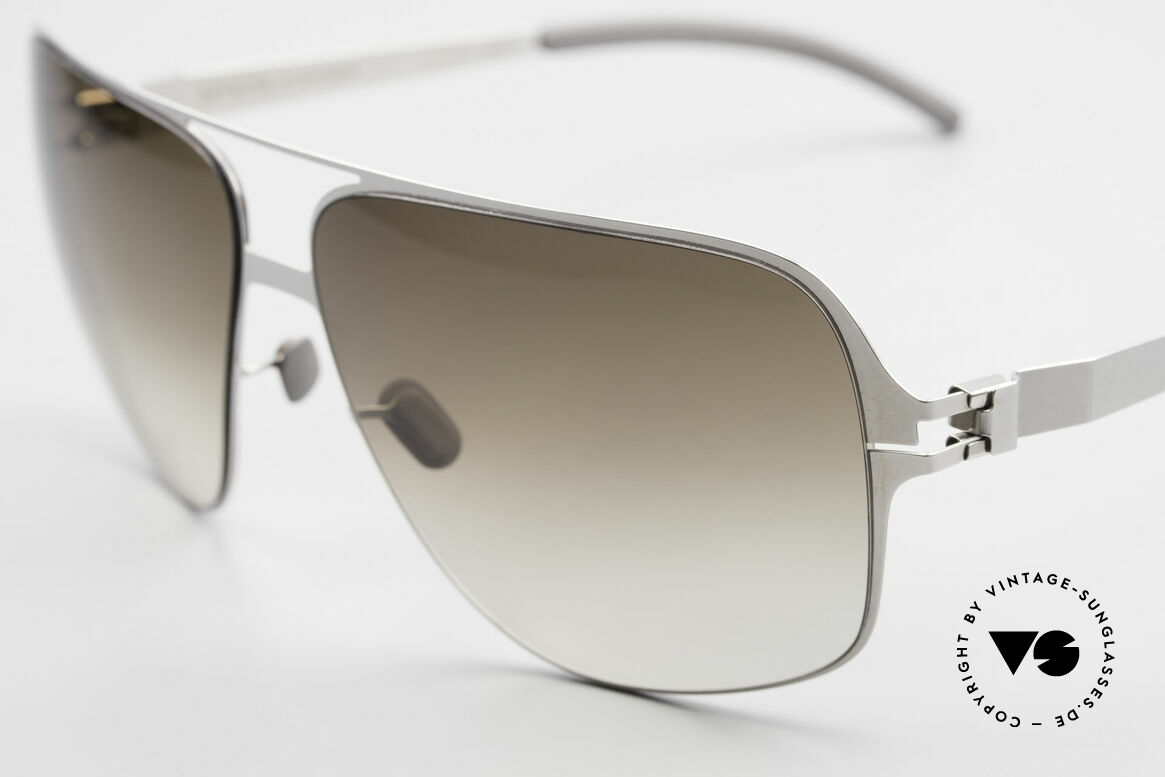 Mykita Cassius Lenny Kravitz Sunglasses XXL, innovative flexible metal frame; XXL size: 150mm width, Made for Men
