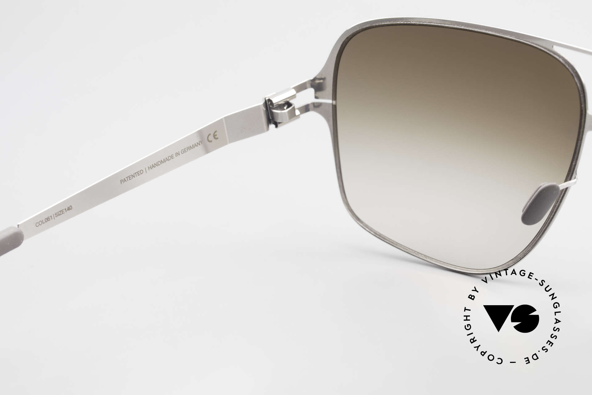 Mykita Cassius Lenny Kravitz Sunglasses XXL, worn by Lenny Kravitz (rare and in high demand, today), Made for Men