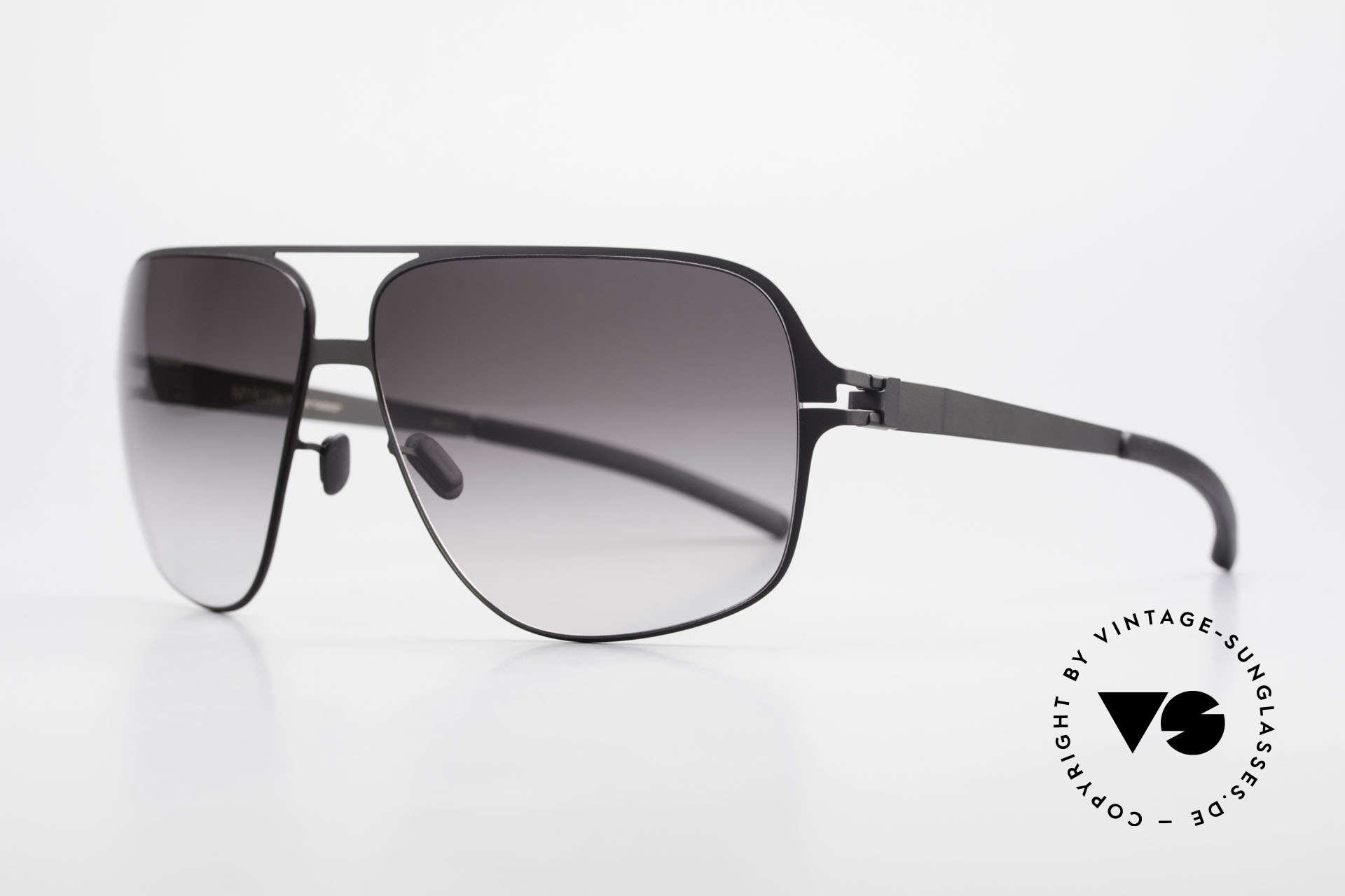 Mykita Cassius XXL Sunglasses Lenny Kravitz, Collection No.1 Cassius Black, black-gradient, Gr. 64/13, Made for Men