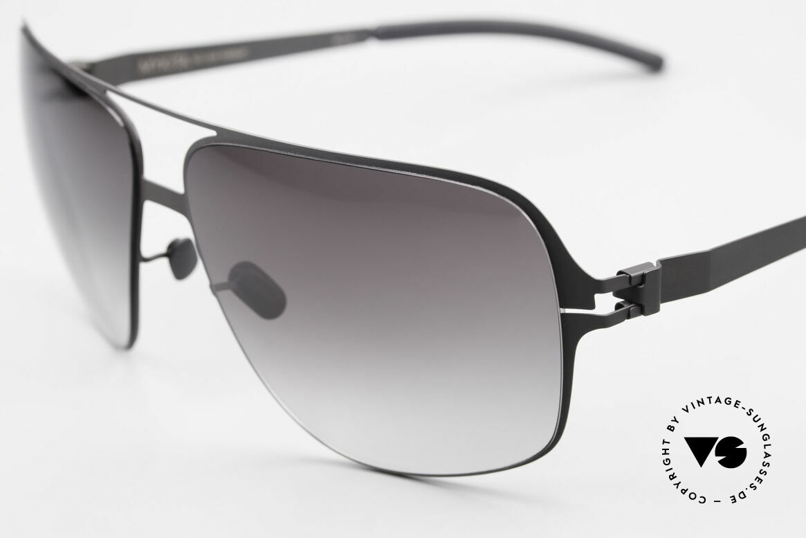 Mykita Cassius XXL Sunglasses Lenny Kravitz, innovative flexible metal frame; XXL size: 150mm width, Made for Men