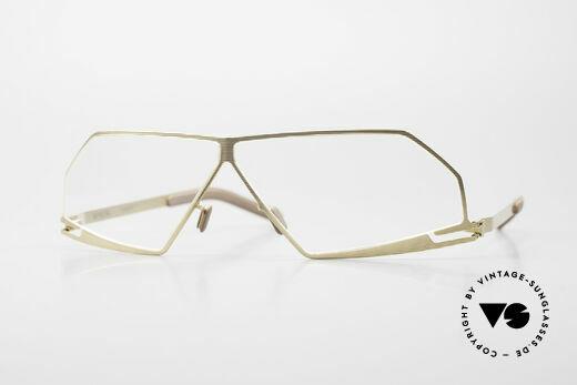 Mykita Chuck Futuristic Designer Eyeglasses Details