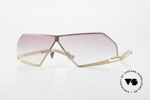 Mykita Chuck Futuristic Designer Sunglasses Details