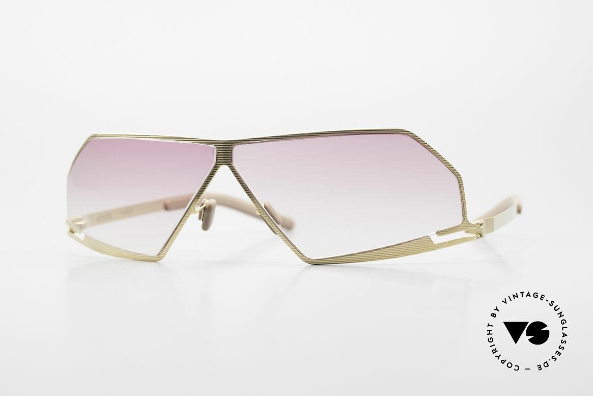 Mykita Chuck Futuristic Designer Sunglasses, orig. futuristic MYKITA designer sunglasses from 2004, Made for Men and Women