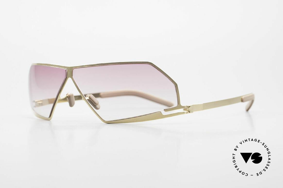 Mykita Chuck Futuristic Designer Sunglasses, Model Chuck = one of the first models by Mykita, ever, Made for Men and Women