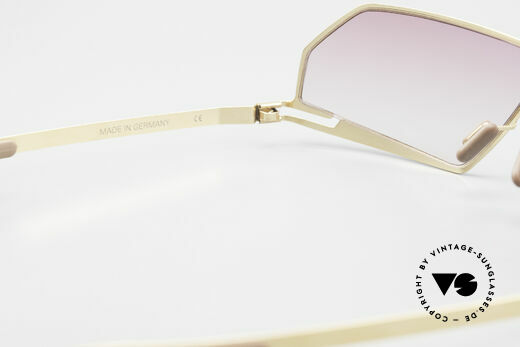 Mykita Chuck Futuristic Designer Sunglasses, thus, now available from us (unworn and with orig. case), Made for Men and Women