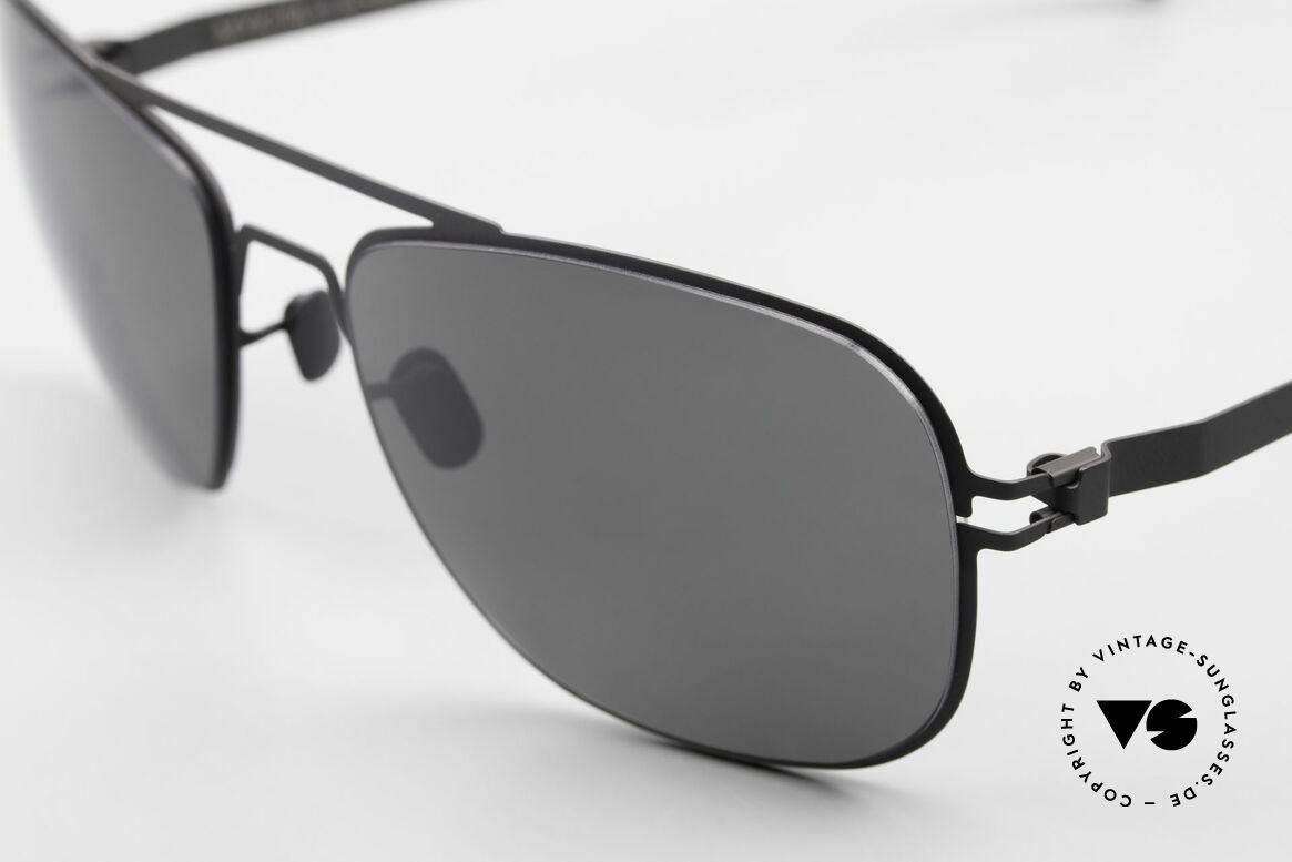 Mykita Howard Polarized Sunglasses Unisex, innovative and flexible metal frame = One size fits all!, Made for Men and Women
