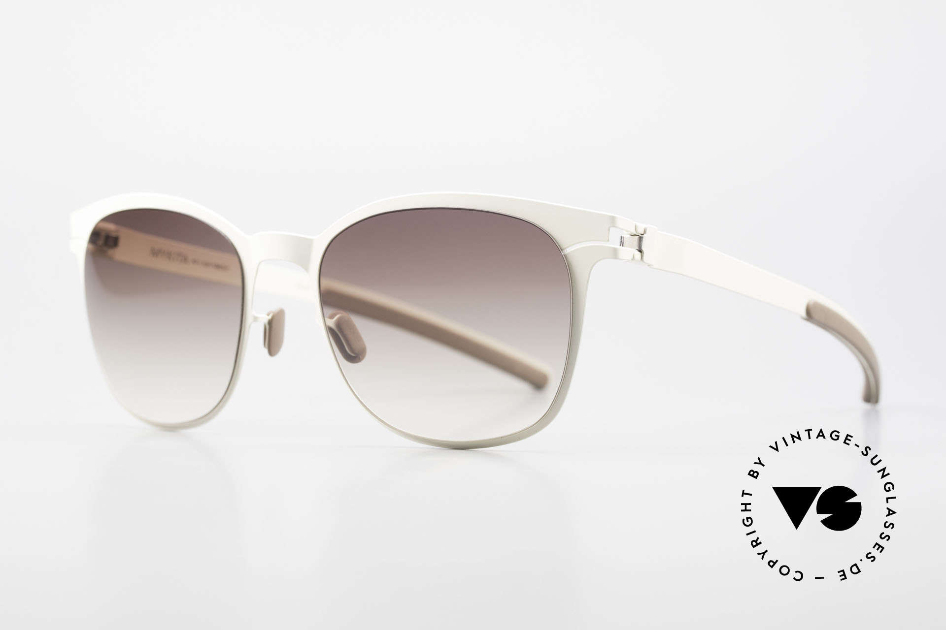 Mykita Greta Ladies Sunglasses From 2009, innovative and flexible metal frame = One size fits all!, Made for Women