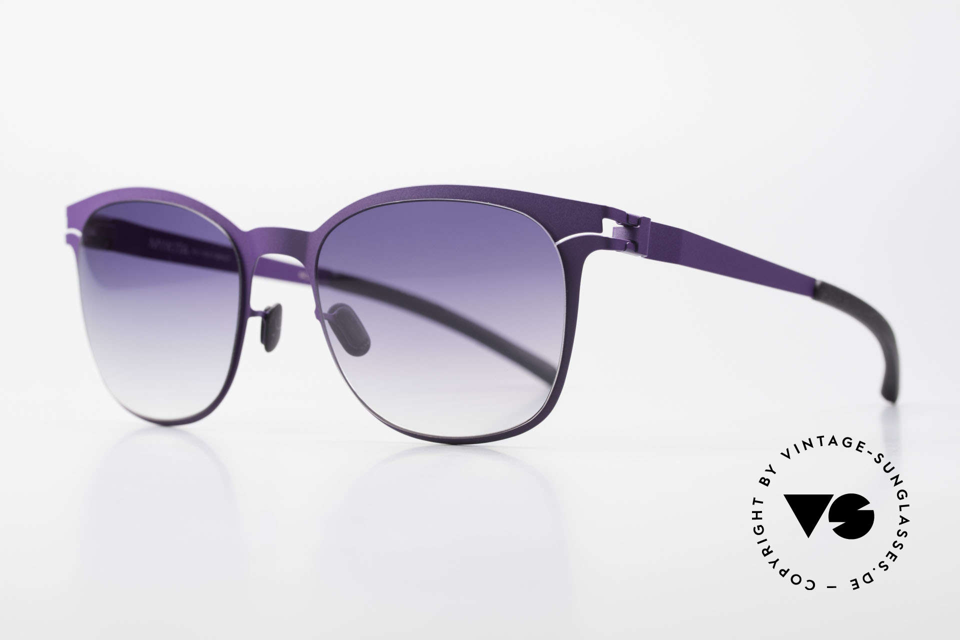 Mykita Greta Ladies Designer Sunglasses, Collection No.1 GRETA Violet, violet-gradient, 54/20, Made for Women