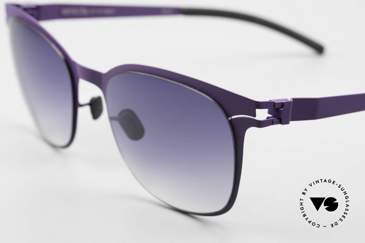 Mykita Greta Ladies Designer Sunglasses, innovative and flexible metal frame = One size fits all!, Made for Women