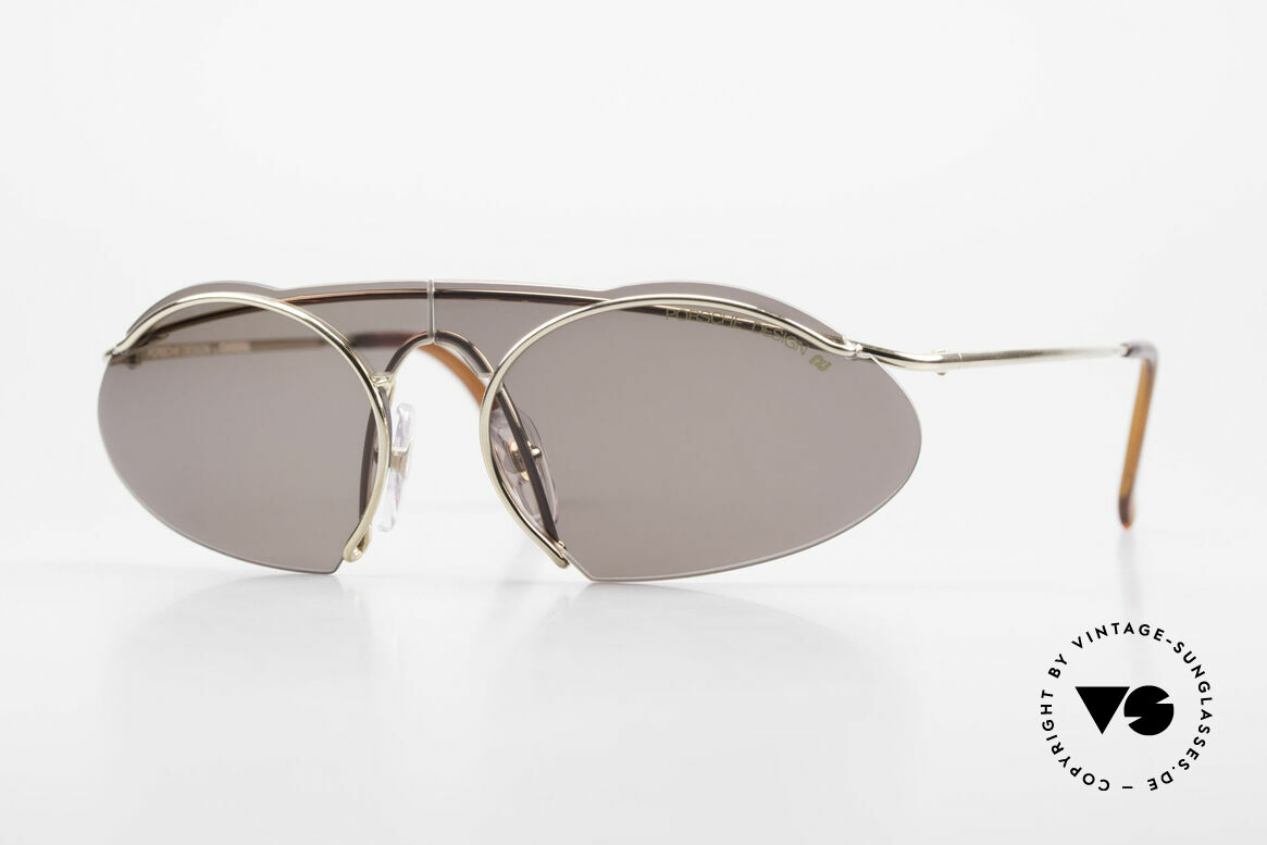 Porsche 5690 2 in 1 Sunglasses Two Styles, ingenious Porsche Design by Carrera 5690 sunglasses, Made for Men and Women