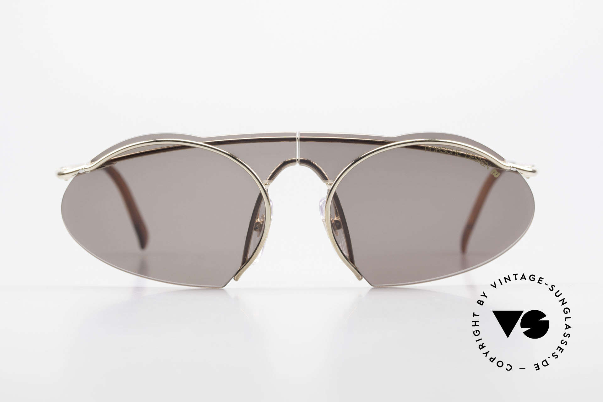 Porsche 5690 2 in 1 Sunglasses Two Styles, high performance, designer sport-shades from the 90's, Made for Men and Women