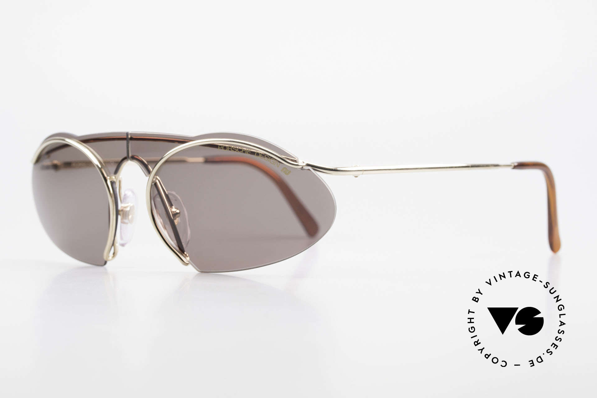 Porsche 5690 2 in 1 Sunglasses Two Styles, 2 completely different styles due to changeable lenses, Made for Men and Women