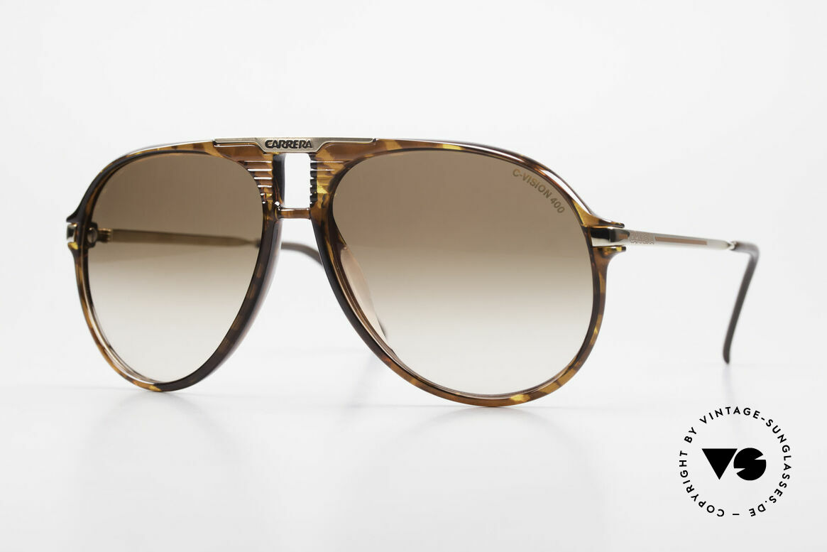 Carrera 5595 80's Shades With Extra Lenses, rare old VINTAGE Carrera sunglasses from 1984, Made for Men