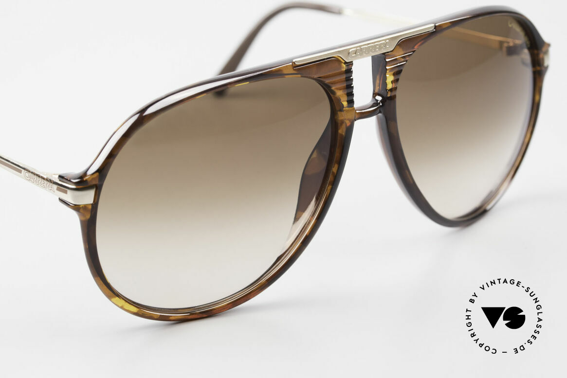 Carrera 5595 80's Shades With Extra Lenses, unworn single item (like all our vintage shades), Made for Men