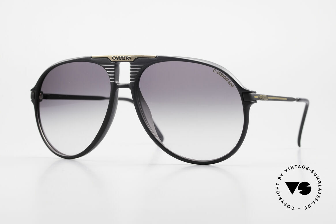Carrera 5595 80's Shades Extra Sun Lenses, rare old VINTAGE Carrera sunglasses from 1984, Made for Men