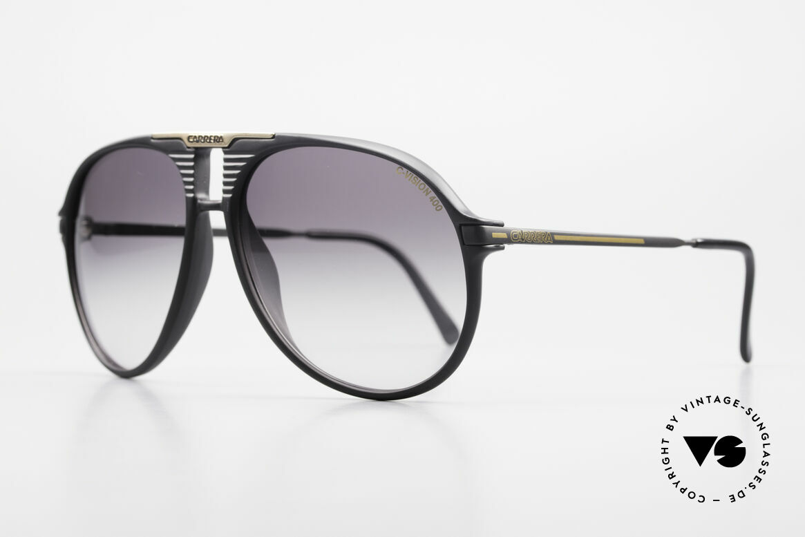 Carrera 5595 80's Shades Extra Sun Lenses, synthetic frame (Optyl material) in best quality, Made for Men