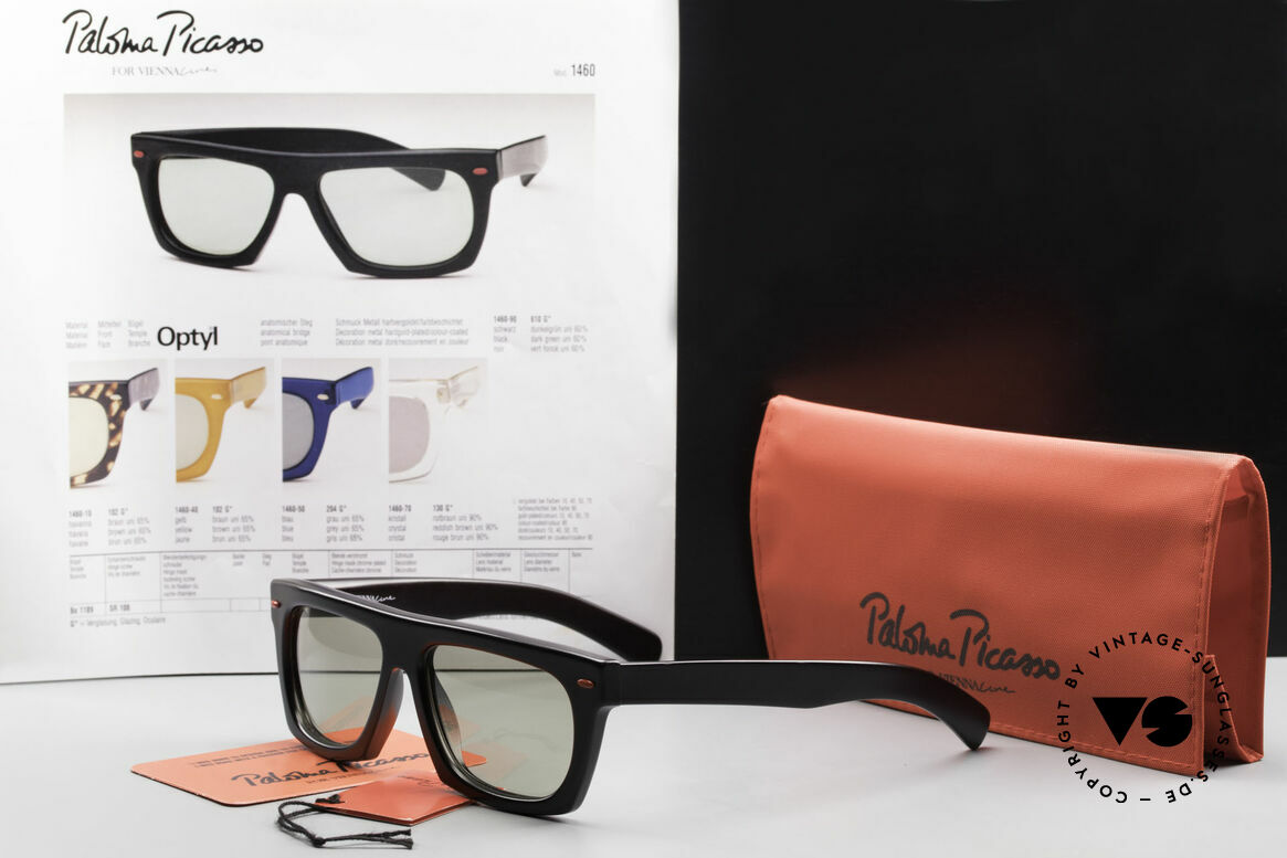 Paloma Picasso 1460 Striking 90's Designer Shades, Size: large, Made for Men and Women