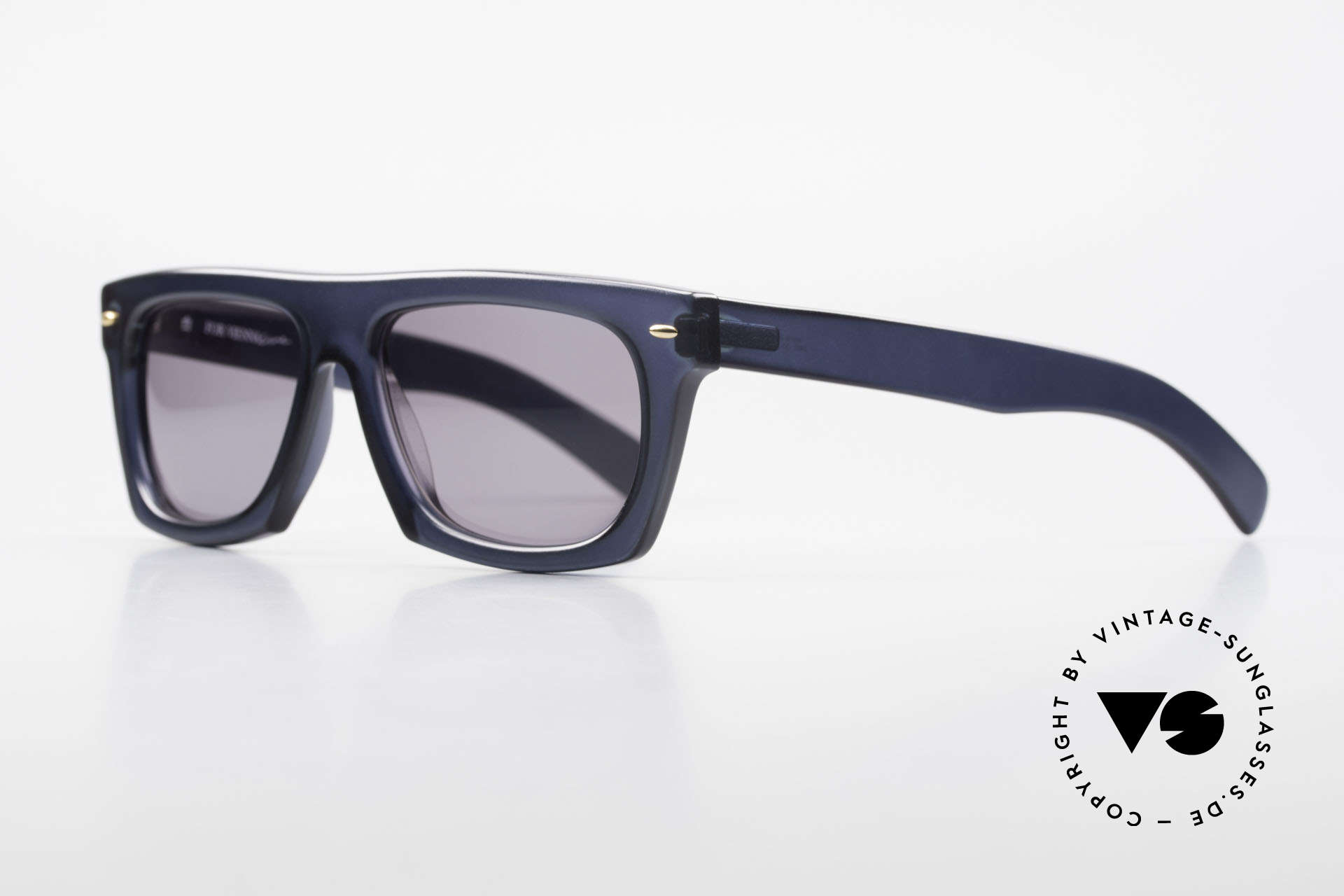 Paloma Picasso 1460 90's Original Designer Shades, striking 90's frame in cooperation with ViennaLine, Made for Men and Women